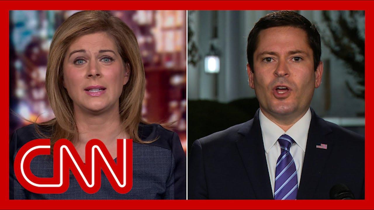 White House deputy press secretary to Burnett: I don't know when the President last tested nega
