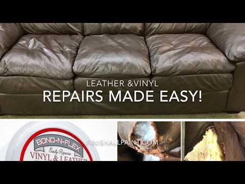 Bond N Flex Vinyl Leather Repair 8oz
