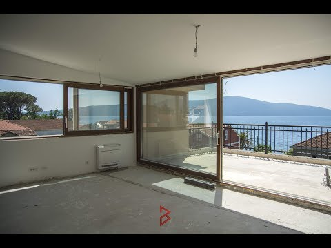 Seafront Penthouse for sale in Tivat great location - Property in Montenegro