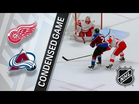 Detroit Red Wings vs Colorado Avalanche – Mar. 18, 2018 | Game Highlights | NHL 2017/18. Обзор