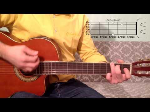 G Sol Majör Akoru Nasıl Basılır Gitar Dersleri