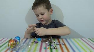 Лапусики яйца сюрприз игрушки распаковка Lapusiki surprise eggs toys unboxing