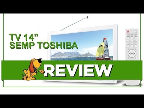 "TV Semp Toshiba 14"" DTV LE1474W - Review"