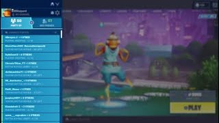 Fortnite weird lobby scarecrow glitch???