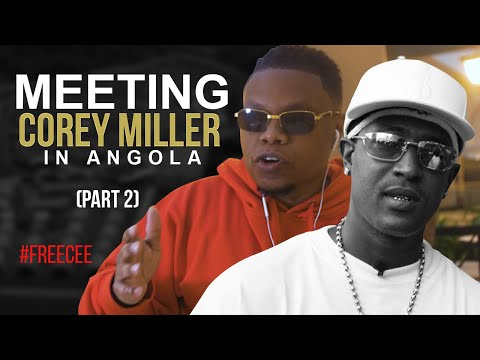 "TRU E-Nation on Meeting Corey Miller in the Angola Law Library. ""I Know How To Get Cee Out"" (Part 2)"