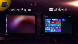UtD: Ubuntu 12.10 VS Windows 8 //BOOT TEST