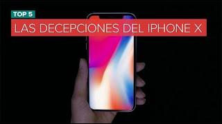 Las decepciones del iPhone X