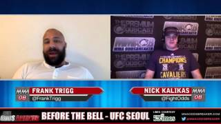 Before the Bell with Nick Kalikas and Frank Trigg - UFC Seoul
