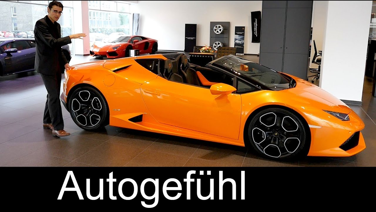 new lamborghini hurac n spyder lp 610 4 premiere review comparison gall. Black Bedroom Furniture Sets. Home Design Ideas