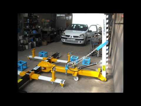 Стапель для кузовного ремонта разборный