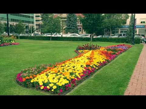 WELCOME TO RED DEER DOWNTOWN L ALBERTA CANADA
