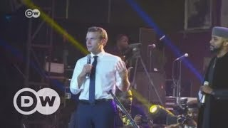 macron parties at femi kutis new afrika shrine in lagos dw english