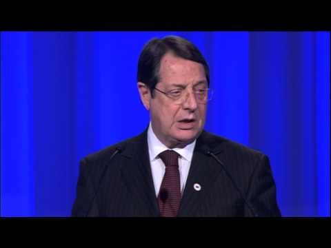 President of Cyprus Nicos Anastasiades speech at the EPP Congres, Dublin