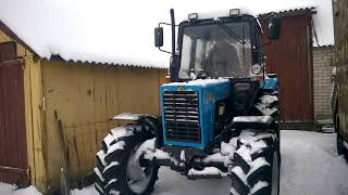 MTZ BELARUS 82P82MK cold start