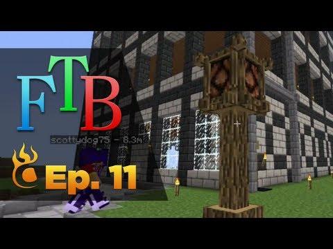 Minecraft Feed the Beast! :: # 11 - Perlando Isle CLS