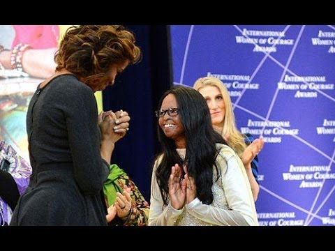 Michelle Obama honours News Express Anchor Laxmi an acid attack survivor