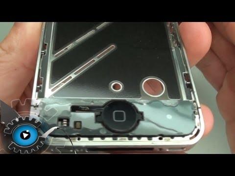iPhone 4 Home Button Wechseln Tauschen Reparieren [Deutsch/German][HD]