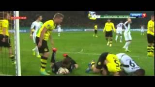 Borussia Dortmund 2-2 Wolfsburg Amazing Goals & Highlights 17.12.2014