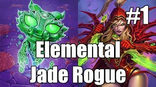 [Hearthstone] Elemental Jade Rogue (Part 1)