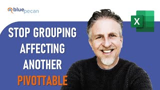 How to Stop PivotTable Grouping Affecting Another PivotTable | 2 PivotTables - Different Groupings