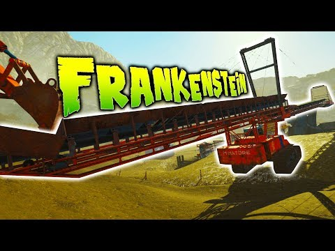 Gold Rush - Largest Gold Mining Equipment - NEW MINE SITE - Frankenstein DLC - Gold Rush The Game