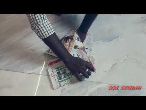 Making of paper dustbin #dustbin #paper
