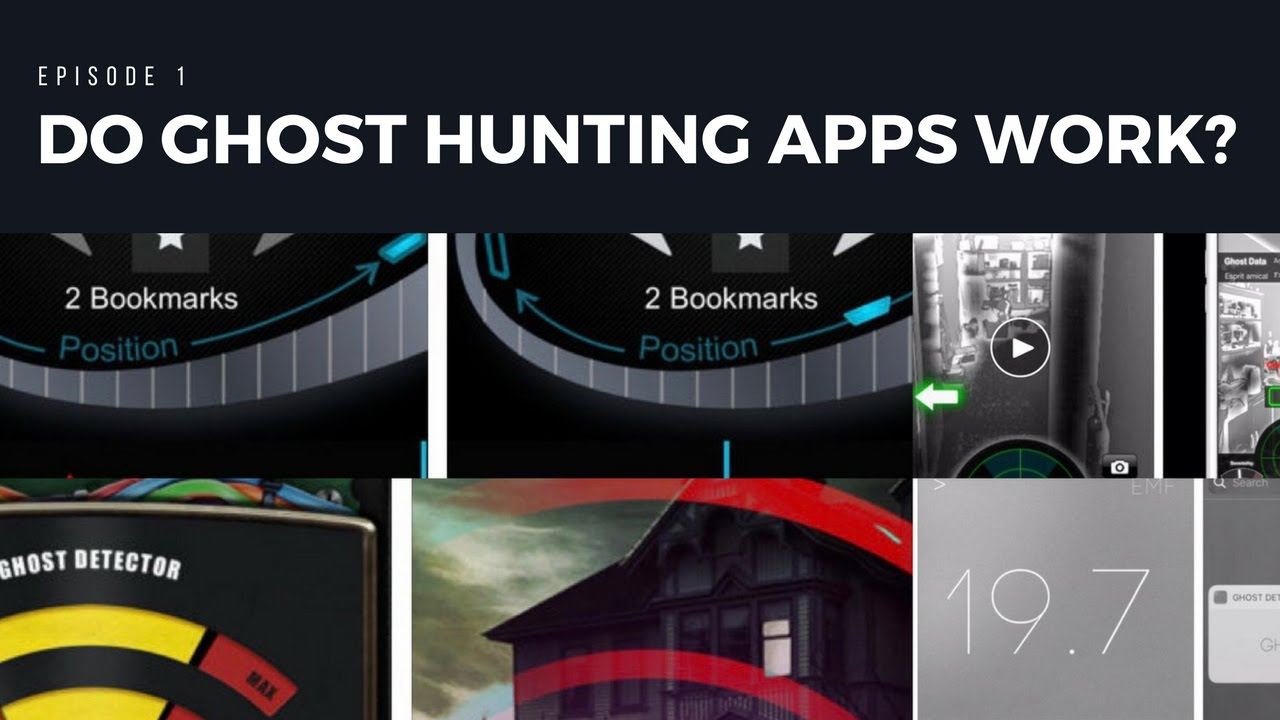 do ghost hunting apps really work episode 1 youtube