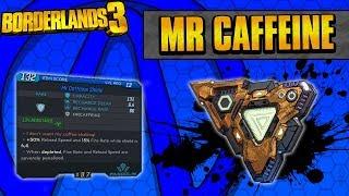Borderlands 3 | Mr Caffeine Unique Shield Guide (Crazy Reload Speed!)