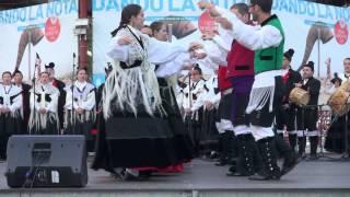 CORO CANTIGAS DA TERRA, FOLIADA DA CRUÑA. - FESTAS DE MARIA PITA, 2.014, A CORUÑA.