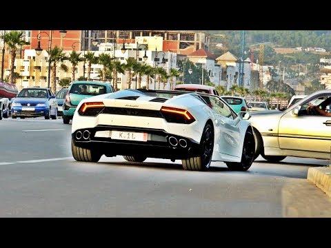 Supercars In Tangier-Morocco July 2017 - (Huracan, Gallardo, E63s 4matic, Brabus, Ferrari488...)
