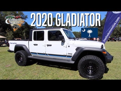 Here's a New 2020 Jeep Gladiator on Display at Jeep Island Car Show | CCVTV