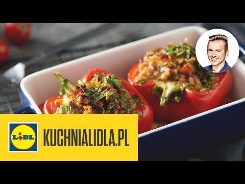 Faszerowana Papryka Z Serem Halloumi Karol Okrasa Kuchnia Lidla