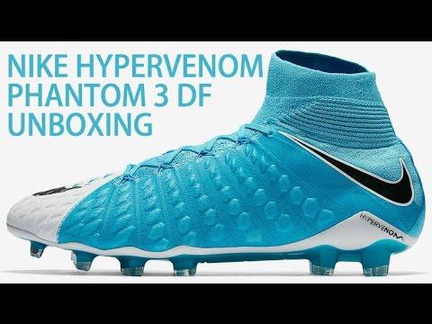 7129bd74c UNBOXING NIKE HYPERVENOM PHANTOM 3 DF- MOTION BLUR PACK - YouTube