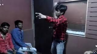 Recording Bewafai song( Jwala) yadav