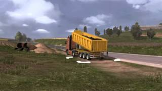 Repeat youtube video Concept #02 - Molder Away Effect - Euro Truck Simulator 2