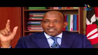 Majority leader in the national assembly Adan Duale says cabinet se...