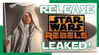 STAR WARS REBELS SEQUEL SERIES RELEASE! LEAKED!