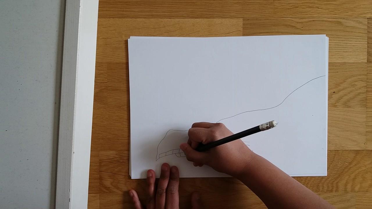 hur ritar man en drake