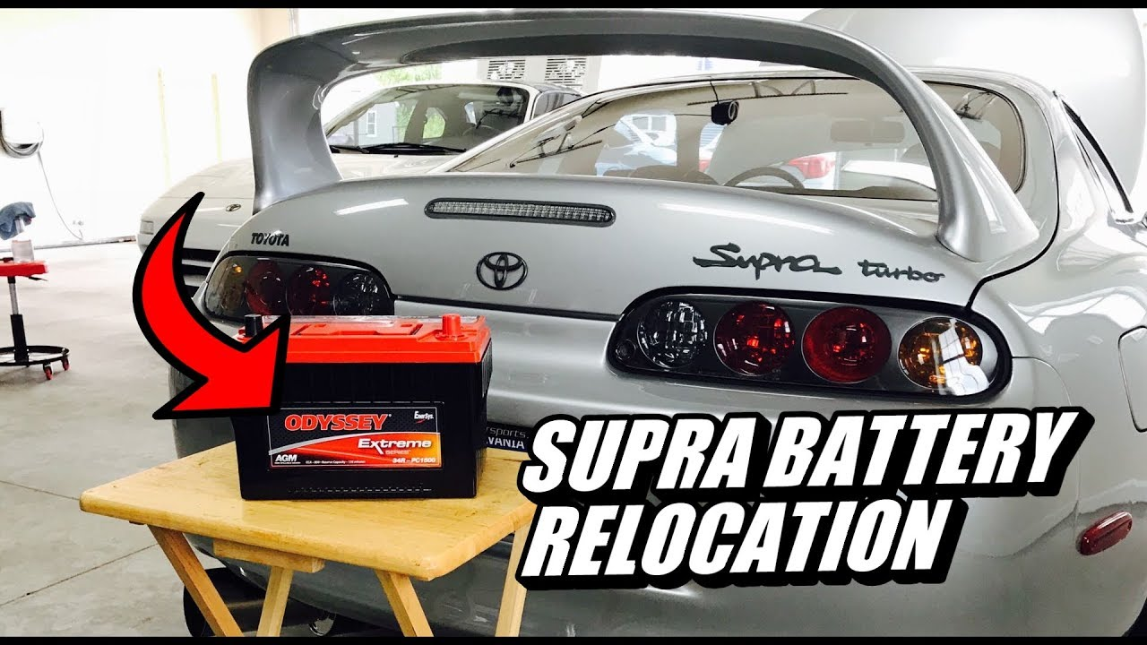 Mkiv Supra Fuse Box Relocation Electrical Wiring Diagrams 89 Battery With Odyssey Youtube Forum