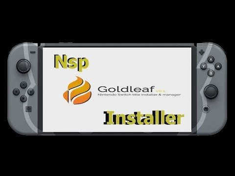 NINTENDO SWITCH GOLDLEAF NOVO INSTALADOR NSP