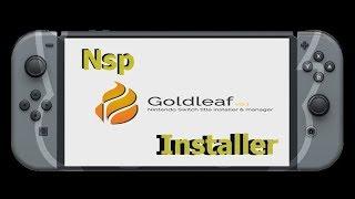 Goldleaf Install Xci