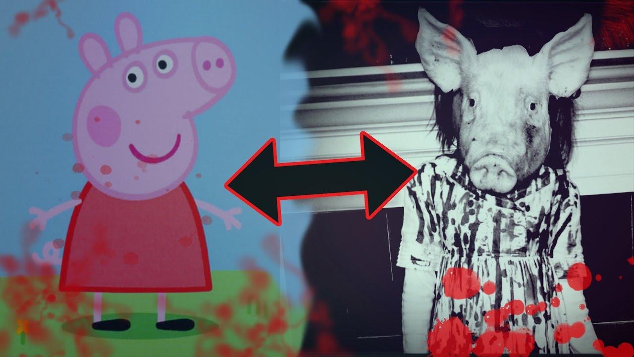 La historia de Peppa Pig y su aterrador origen - YouTube