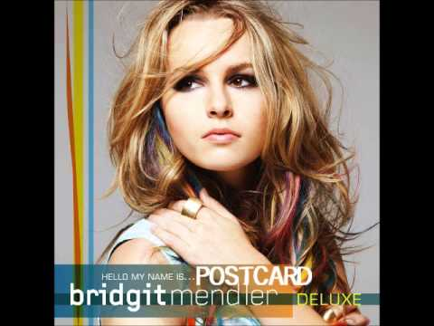 bridgit mendler postcard karaoke with background vocals