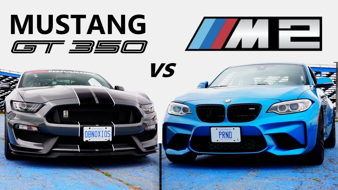 Ford mustang shelby gt350 vs bmw m2 track review one track mind ep 4