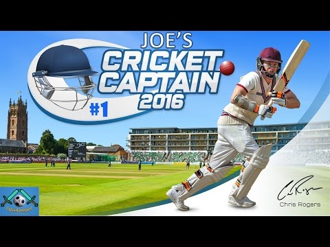 Cricket Captain 2016 - Road to Number 1 (England) - Part 1: The Return of Kevin Pietersen!