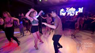 Alessio Piemontese & Deniz Konuklu - Salsa social dancing | Istanbul Int. Dance Festival 2018