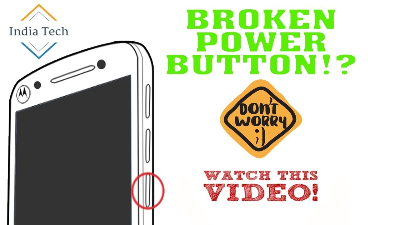 How To Turn On Any Phone Without The Power Button....#IndiaTech - YouTube