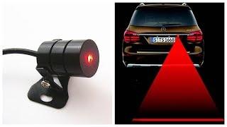 Лазерный противотуманный стоп сигнал обзор / Задний стоп сигнал купить