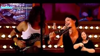 Şebnem Ferah   Sil Baştan Disko Kralı Canlı Performans 01 07 2012   YouTube