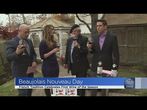 Celebrating Beaujolais Nouveau Day!